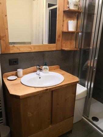 Foto del bagno Appartamenti DolomiTiAmo