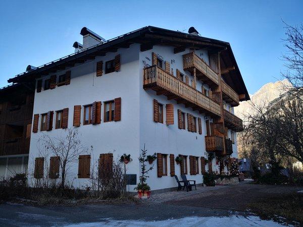 Foto invernale di presentazione Appartamenti DolomiTiAmo