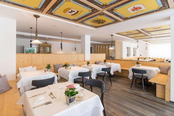 Das Restaurant San Cassiano Conturines