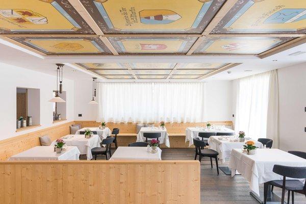 Il ristorante San Cassiano Conturines Posta