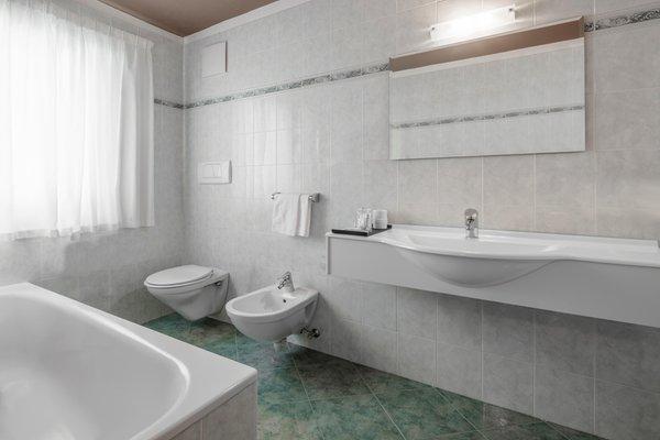 Foto del bagno Hotel Conturines