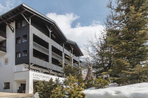 Foto invernale di presentazione Conturines - Hotel 3 stelle