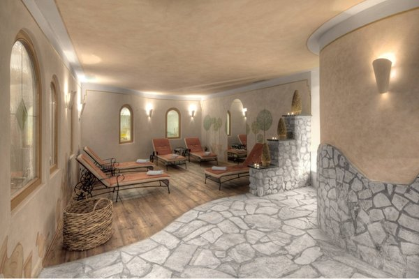 Photo of the wellness area Hotel Conturines