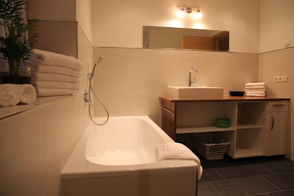 Foto del bagno Appartamenti in agriturismo El Paradiso