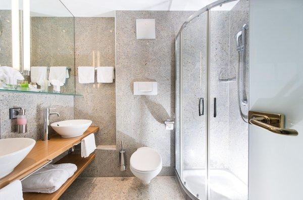 Foto del bagno Hotel Wiesenhof
