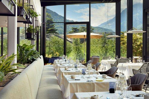 The restaurant Lagundo / Algund Wiesenhof