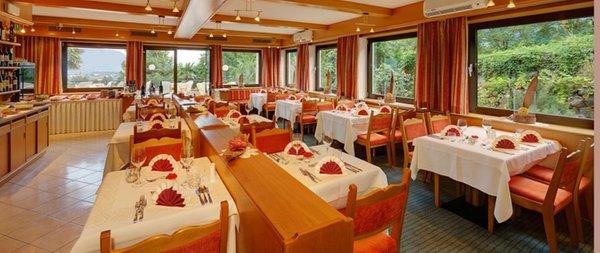 Il ristorante Lagundo Laurin