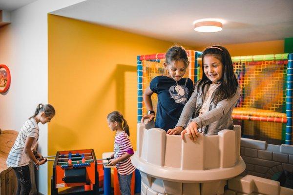 Das Kinderspielzimmer Mountain Panoramic Wellness Hotel Dolasilla