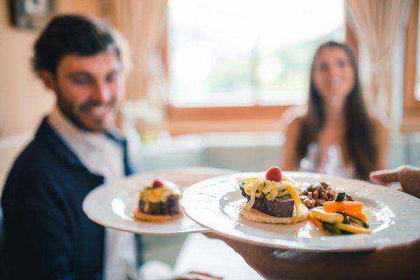 Ricette e proposte gourmet Mountain Panoramic Wellness Hotel Dolasilla
