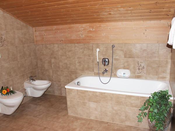 Foto del bagno Garni (B&B) An der Leit