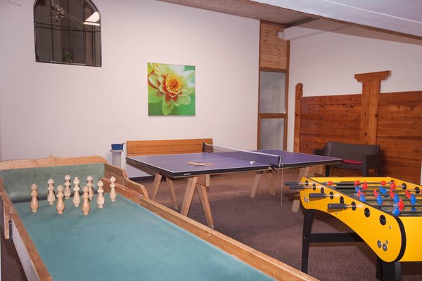 La sala giochi Residence St. Hippolyt