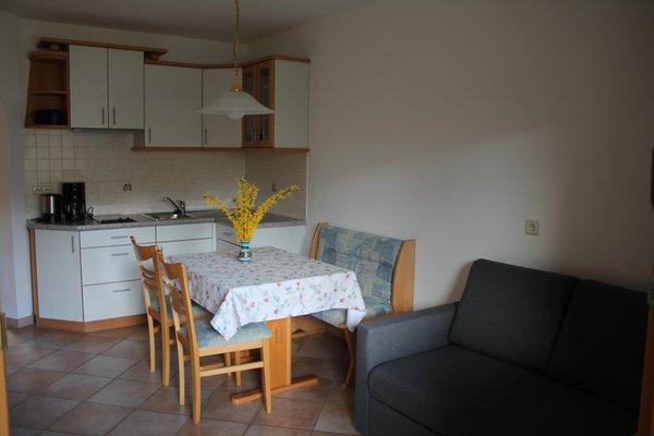 La zona giorno Blummerhof - Appartamenti in agriturismo 3 fiori