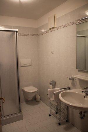Foto del bagno Appartamenti in agriturismo Blummerhof
