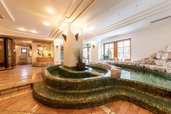 Photo of the wellness area Hotel Dolomiti
