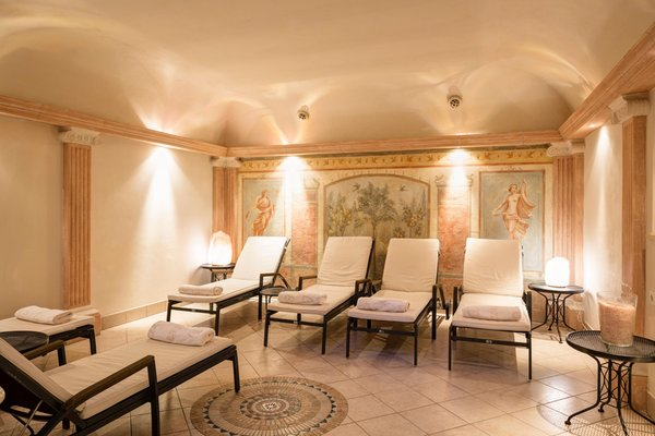 Photo of the wellness area Hotel Castel Rundegg