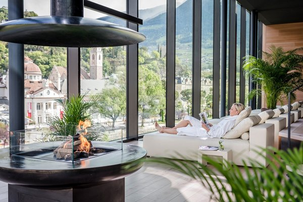 Photo of the wellness area Hotel Terme Merano