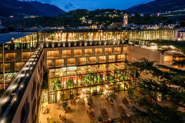 Photo exteriors in summer Terme Merano