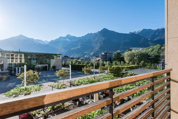 Photo of the balcony Terme Merano