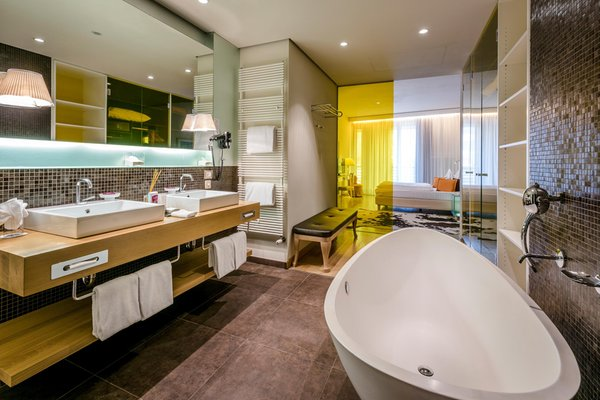 Photo of the bathroom Hotel Terme Merano