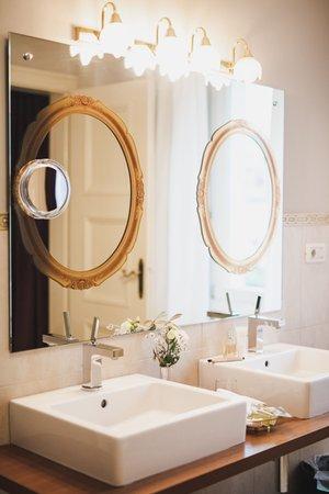 Foto del bagno Hotel Adria