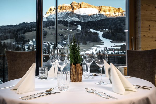 The restaurant Badia - Pedraces Gran Ander