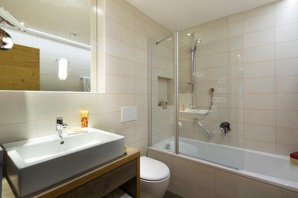 Foto del bagno Appartamenti Ciasa Soplà