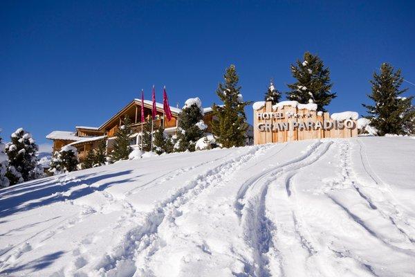 Foto invernale di presentazione Gran Paradiso - Hotel 4 stelle