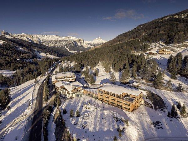 La posizione Hotel Gran Paradiso S. Cassiano - Armentarola