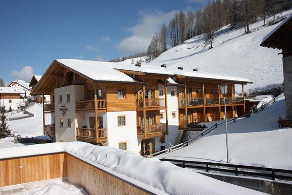 Foto esterno in inverno Dolomites Hotel La Fradora