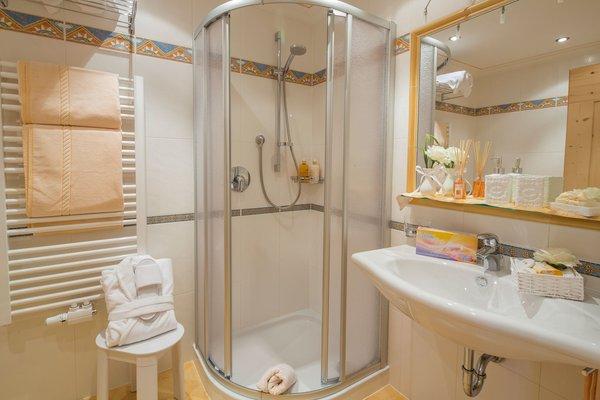 Foto del bagno Appartamenti Chalet Sorëdl