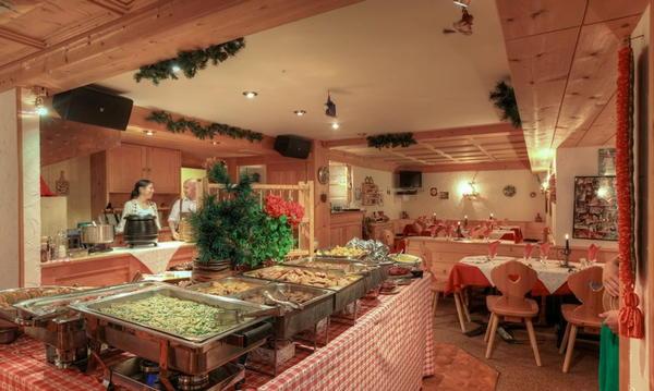Il ristorante San Cassiano La Stüa