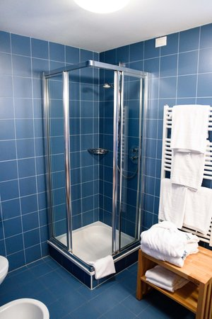 Foto del bagno Hotel + Residence La Villa