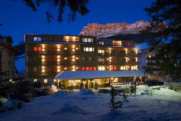 Foto Außenansicht im Winter La Villa