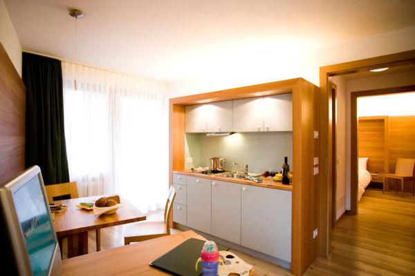 La zona giorno La Villa - Hotel + Residence 3 stelle sup.