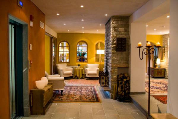 Le parti comuni Hotel + Residence La Villa