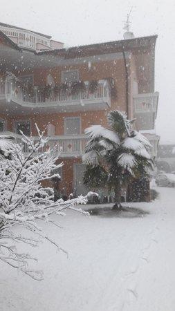 Photo exteriors in winter Trübenbach
