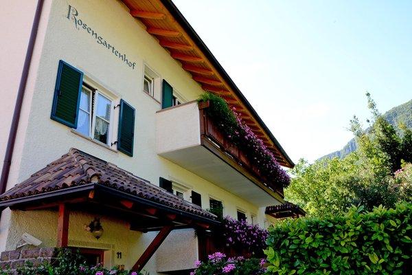 Foto esterno in estate Rosengartenhof