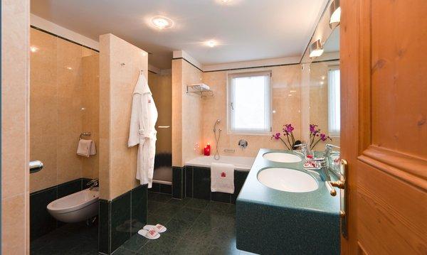 Foto del bagno Hotel + Residence Ladinia