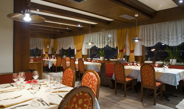 Il ristorante La Villa Ladinia