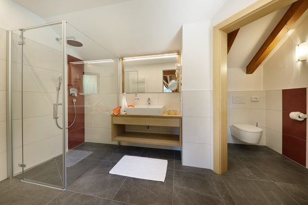 Photo of the bathroom Hotel Neuhausmühle