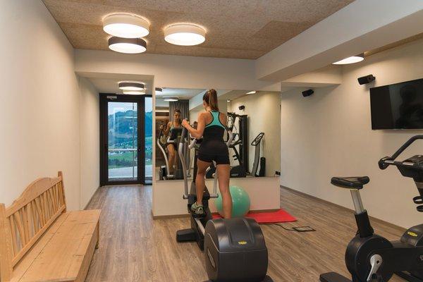 Foto vom Fitness-Bereich Hotel Lech da Sompunt
