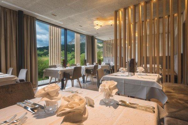 Das Restaurant Badia - Pedraces Lech da Sompunt
