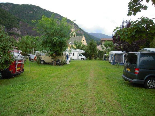 The car park Campsite Markushof
