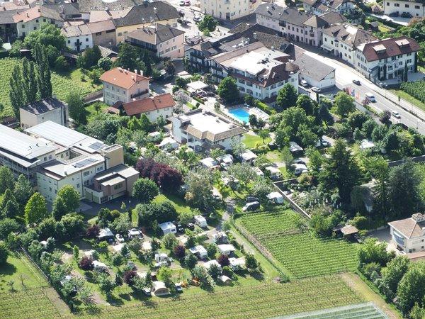 Position Campsite Markushof Ora / Auer (Strada del vino south / Weinstraße south)
