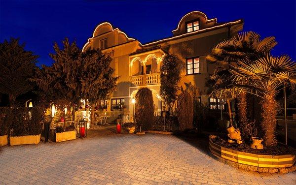 Foto invernale di presentazione Hotel Villa Groff