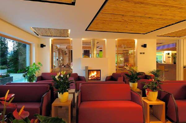 Die Gemeinschaftsräume Hotel Melodia del Bosco