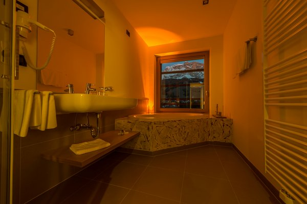 Photo of the bathroom Hotel Melodia del Bosco