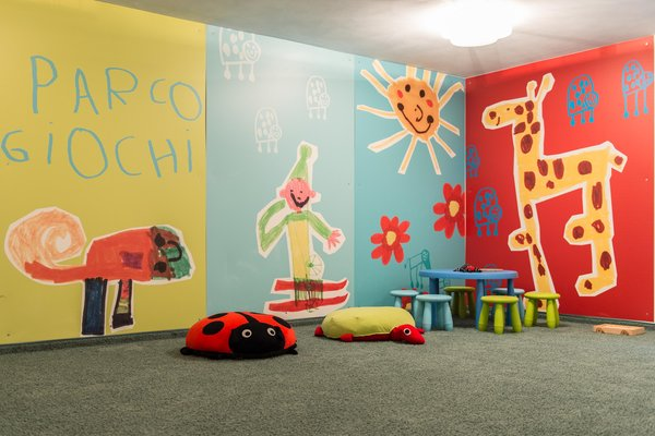 The children's play room Hotel Melodia del Bosco