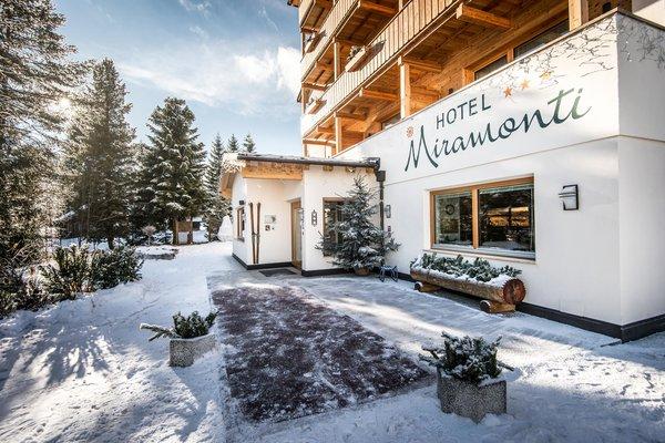 Foto esterno in inverno Miramonti