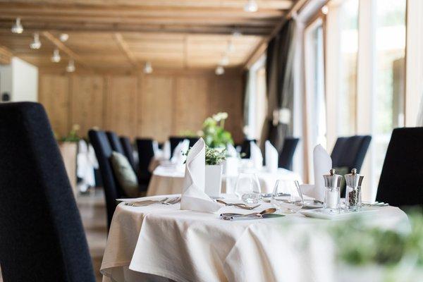 Das Restaurant La Villa Alpine Hotel Ciasa Lara